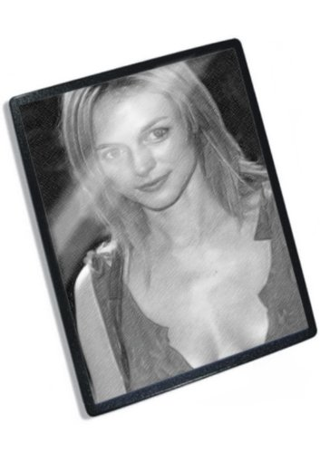 HEATHER GRAHAM - Original Art Mouse Mat #js006