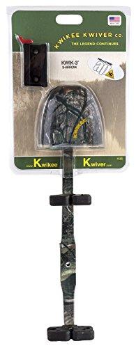 Kwikee Kwiver - Kwikee Kwik - 3 SS - 3-Arrow Quiver - Archery Accessories - Quivers