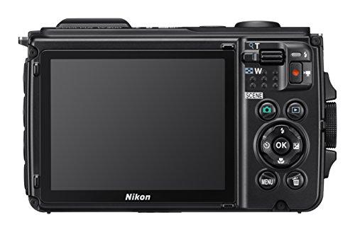 Nikon COOLPIC W300 16 MP Point & Shoot Digital Camera, Orange