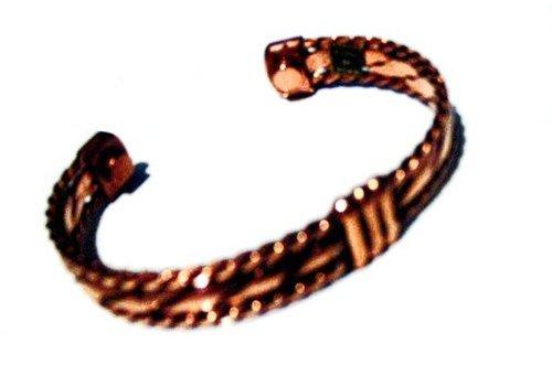 Bracelet magnétique de cuivre manchette réglable cuivre pur à des fins médicinales