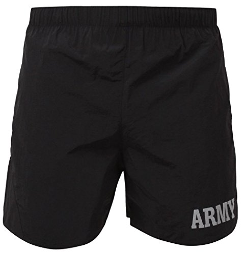 Bellawjace Clothing Black Army Military Physical Training Jogging PT - Army Black Shorts Physical Training