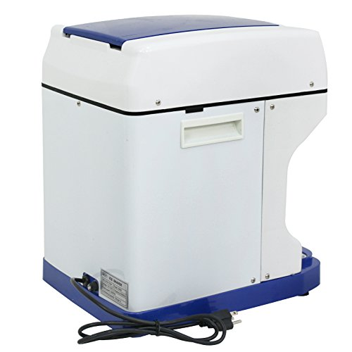 ZENY Ice Crusher Maker Commercial Ice Shaver Snow Cone Maker Equipment Machine (White) by ZENY (Image #2)