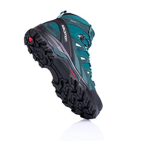 Salomon Quest Prime, Chaussures de Randonnée Hautes Femme blue