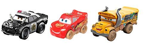 - Disney Pixar Cars GBC70 Mini Derby Racers Series 3-Pack, Multicolour