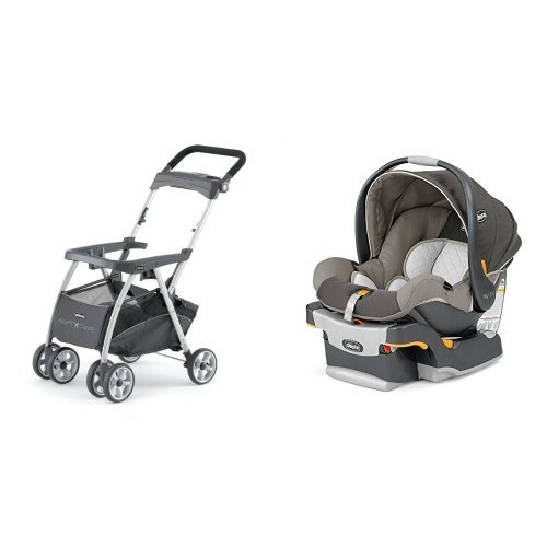 Chicco Keyfit 30 Infant Car Seat with Caddy, Papyrus