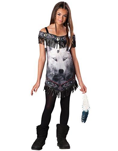 Spirit Halloween Costumes For Tweens (Lets Party Tribal Spirit Tween Costume - Size Medium (10/12))