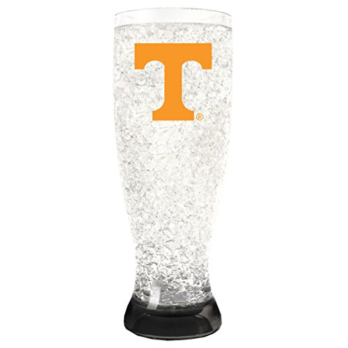 NCAA Tennessee Volunteers 16oz Crystal Freezer Pilsner