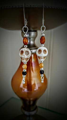(Halloween Skull Earrings)