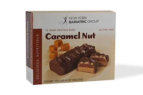 New York Bariatric Group Protein Bars (7 Bars) – Caramel Nut For Sale