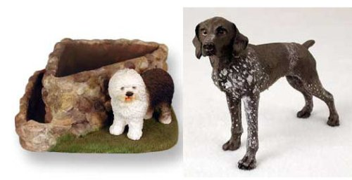 German Shorthair Pointer Triangle Planter