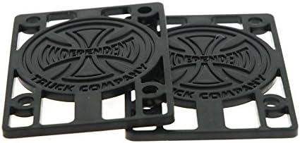 Independent 1//8 Hard Riser Pads