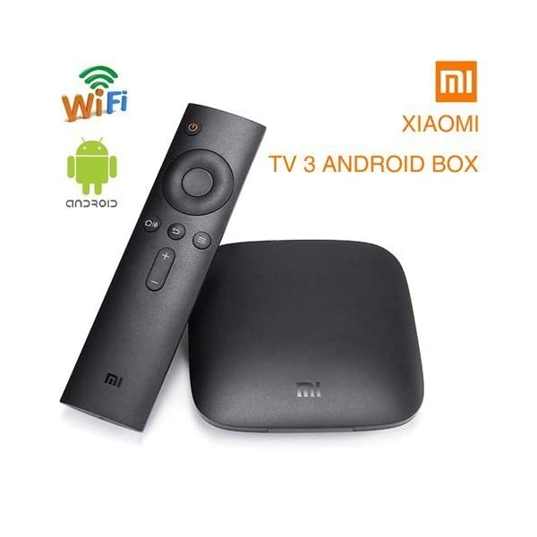 Original Xiaomi Mi Box - 4K Ultra HDR TV Streaming Media Player with