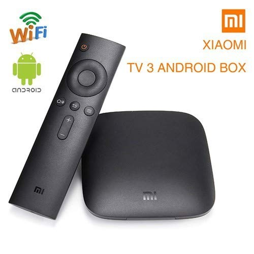Original Xiaomi Mi Box - 4K Ultra HDR TV Streaming Media Player with Voice Search Remote