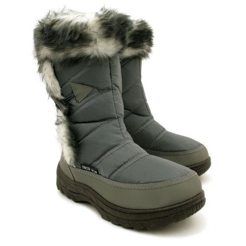 Winter Snow Ski Toggle Jogger Moon Boots