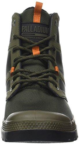 Palladium Pallafuze M, Sneaker a Collo Alto Uomo Verde (Moon Mist/Black)