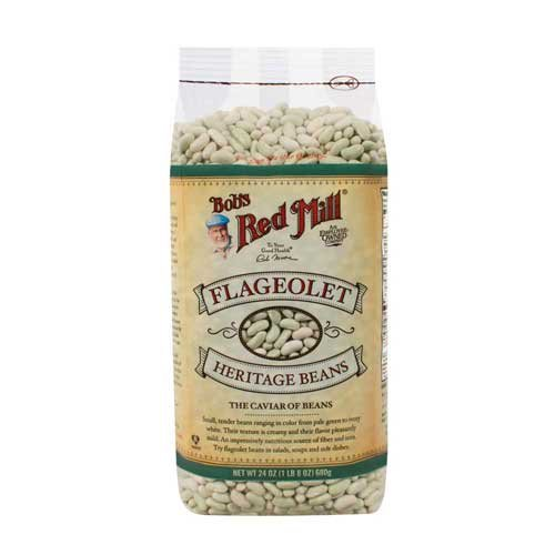 Bobs Red Mill Flageolet Beans, 24 Ounce -- 4 per case. by Bob's Red Mill