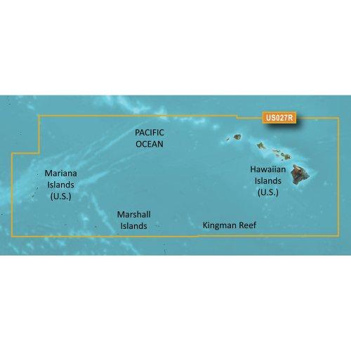 - Garmin BlueChart g2 Vision - VUS027R - Hawaiian Islands - Mariana Islands - microSD/SD