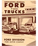1951 FORD F-SERIES TRUCK Owners Manual User Guide