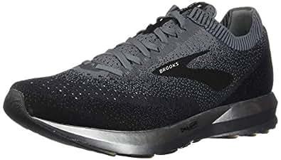 Brooks Australia Men's Levitate 2 Road Running Shoes, Black/Grey/Ebony, 8 US