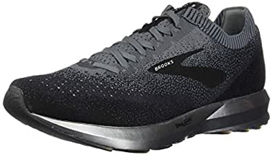 Brooks Australia Men's Levitate 2 Road Running Shoes, Black/Grey/Ebony, 8 US