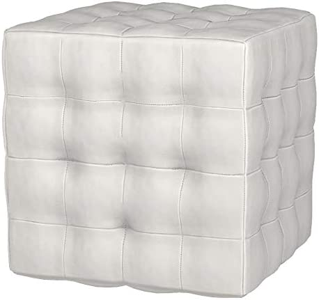 Cortesi Home JoJo Tufted Cube Ottoman