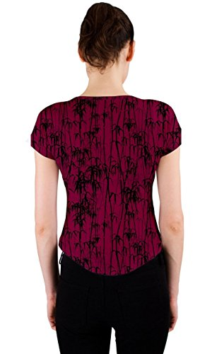 CowCow - Camiseta sin mangas - para mujer Magenta Black