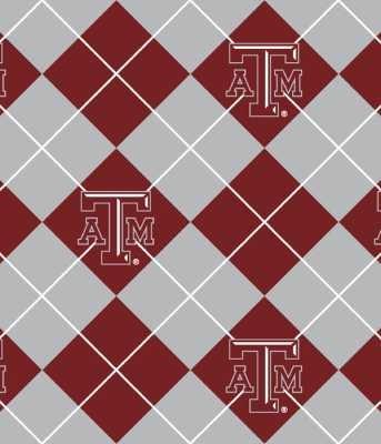 Texas A&m - 100% Polyester Fleece 60