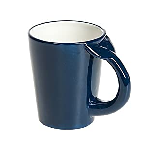 G! For Gifts Deep Blue Whale Tale Handle Novelty Coffee Mug - 14 Ounce