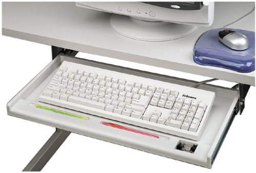 Fellowes Underdesk Keyboard Manager Standard 3 Adjustable Positions