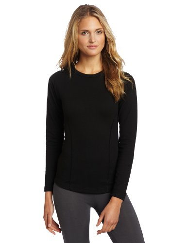 Duofold Women's Heavy Weight Double Layer Thermal Shirt, Black, Medium Heavyweight Long Underwear Tops