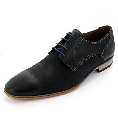 LLOYD chaussures dodge Bleu semelles cuir nubuk en brushleder à bleu lacets 15–040–00 business IBaqwngxBr