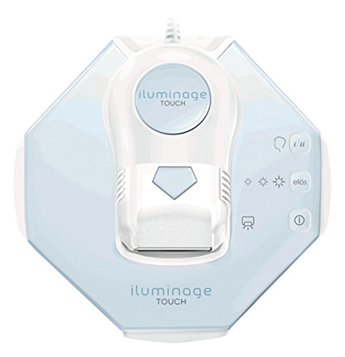 Hair Removal - iluminage Touch ELOS Quartz Permanent Hair Reduction System with 300,000 Flashes - Combines IPL hair removal technology and Radio Frequency for Men or Women