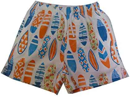 dbff166b3e INGEAR Little Boys Quick Dry Beach Board Shorts Kids Swim Trunk Swimsuit Beach  Shorts with Mesh