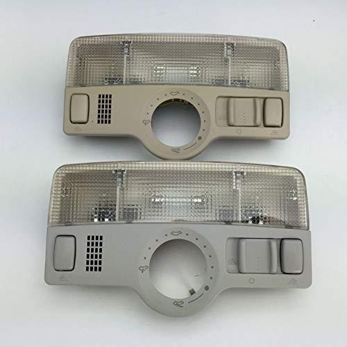 DishyKooker for VW Passat B5 Golf Jetta MK4 for Skoda Octavia Fabia Sunroof Skylight Gray Dome Light Reading Lamp 1ZD 947 105 A/1J0 947 106 Gray
