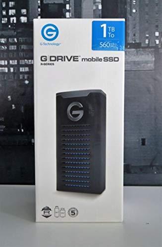 G-Technology (HGST), 1TB (1000GB) G-Drive Mobile SSD R-Series Storage USB 3.1(Gen 2) Waterproof/Dustproof  ()
