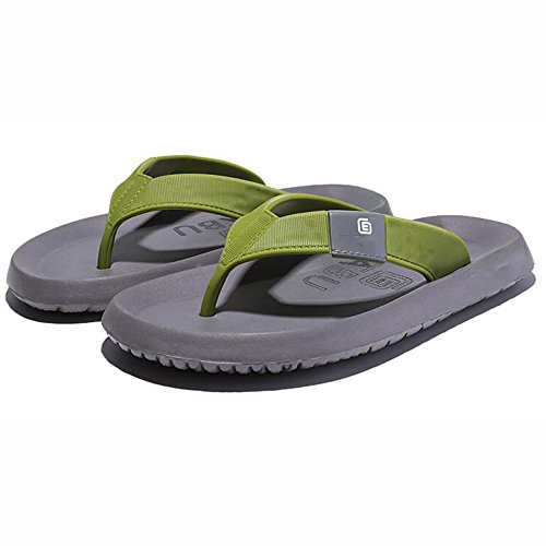 XIAOLIN Zapatillas de los hombres de verano Slip zapatillas al aire libre sandalias de goma Casual Beach Shoes hombres (tamaño opcional) ( Color : 02 , Tamaño : EU39/UK6.5/CN40 ) 03