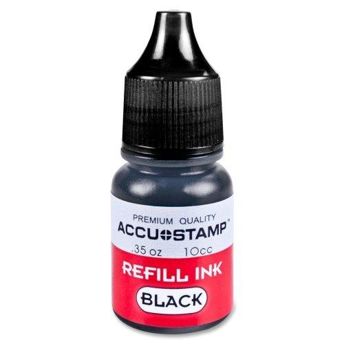 COSCO Accu Stamp Shutter Pre-Ink Refill - Black Ink