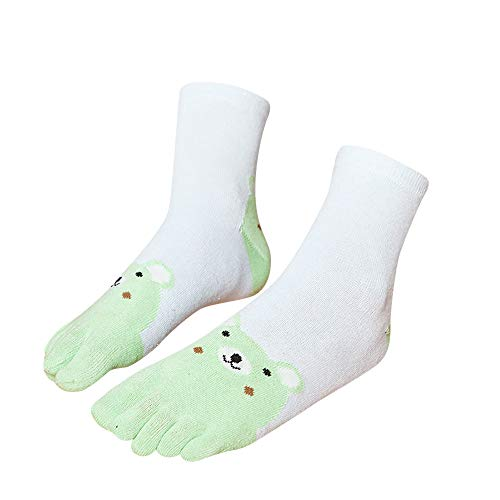Price comparison product image Patchwork Toe Sock, G-real Toddler Baby Kids Girls New Cute Baby Girls Animal Five Finger Toe Socks