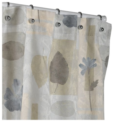Amazon.com: Croscill Spa Leaf Shower Curtain, 70-inch by 75-inch, Multi:  Kitchen & Dining
