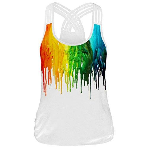 YICHUN - Camiseta sin mangas - para mujer 3#