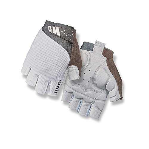 Giro Monica II Gel Womens Cycling Gloves White Medium