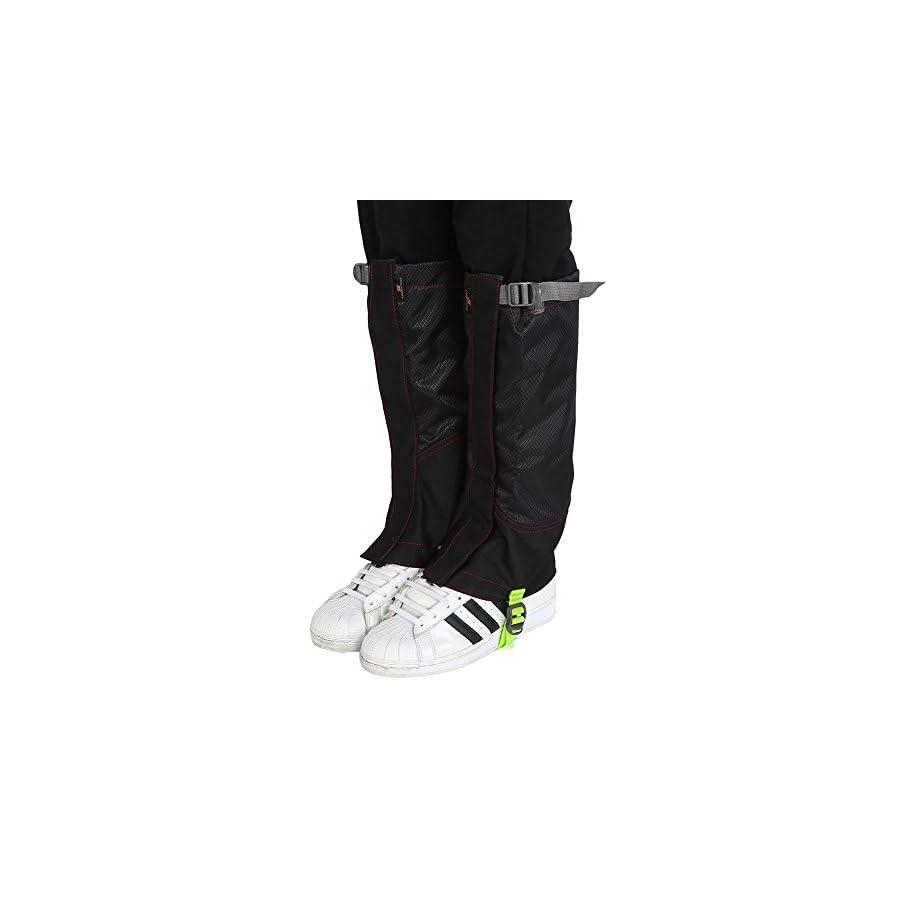 Leg Gaiters Leggings Cover 1Pair Waterproof Outdoor Climbing Hiking Snow High Boot Leg Cover