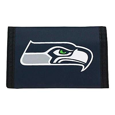 Seattle Seahawks Tri-Fold Nylon Wallet