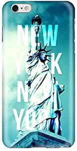Stylizedd Apple iPhone 6Plus Premium Slim Snap case cover Matte Finish - New York New York