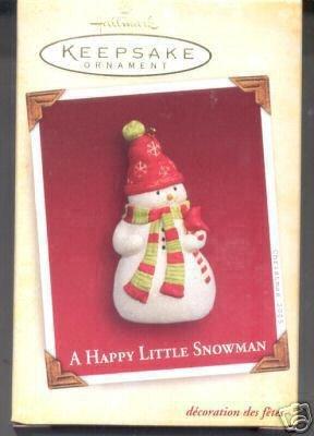 Hallmark Ornament 2005 a Happy Little (Angel Snowman)