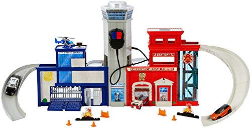- Matchbox Rescue Headquarters Playset