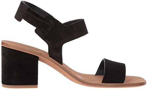 negro tacón Sandalias tacón mujer Via Spiga ante para en con de Heel Block de Kamille pB6TnqUB