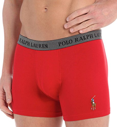 Polo Ralph Lauren Polo Player Stretch Jersey Pouch Boxer Brief (P998) M/RL2000 (Jersey Stretch Briefs)