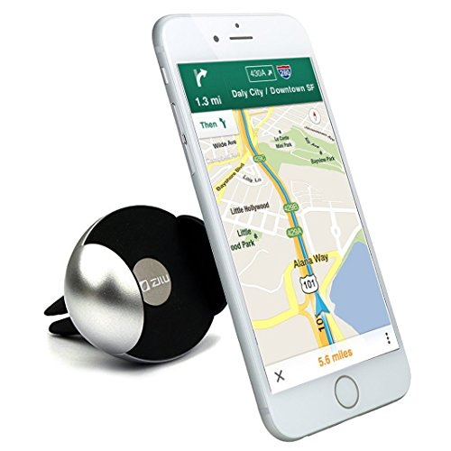 Zilu Elite Universal Air Vent Car Phone Mount, Cell Phone Holder for iPhone 6s Plus 6s 5s Android and More -Retail Packaging