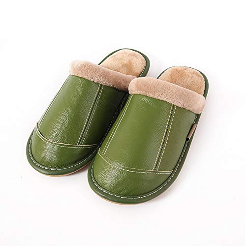 Slippers Home Slip Ultra Foam Slippers House Memory Comfort Sole Shoes Durio Green Anti Mens Non Skid Womens with x4Ynq0ZSPw